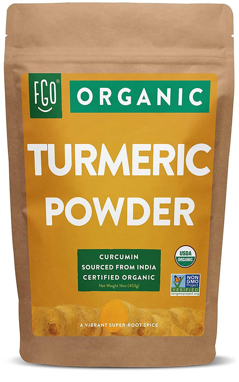 FGO Organic Turmeric Root Powder