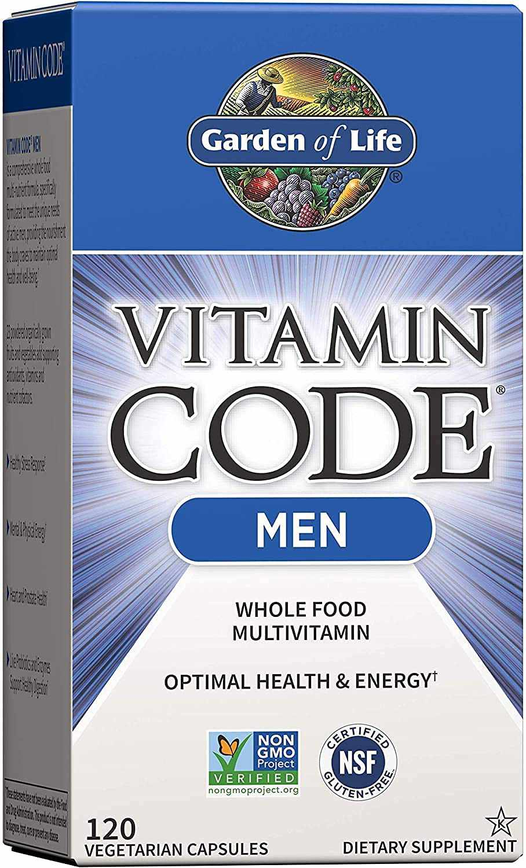 Garden of Life Vitamin Code Whole Food Multivitamin for Men