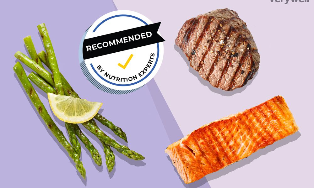 O'Charley's menu items: asparagus, salmon, steak