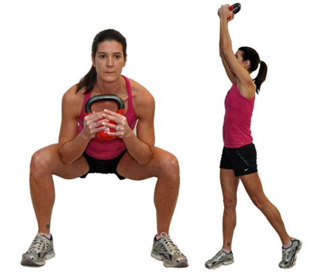 Goblet Squat with Rotation