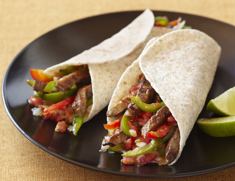 Low-Carb Beef Fajitas