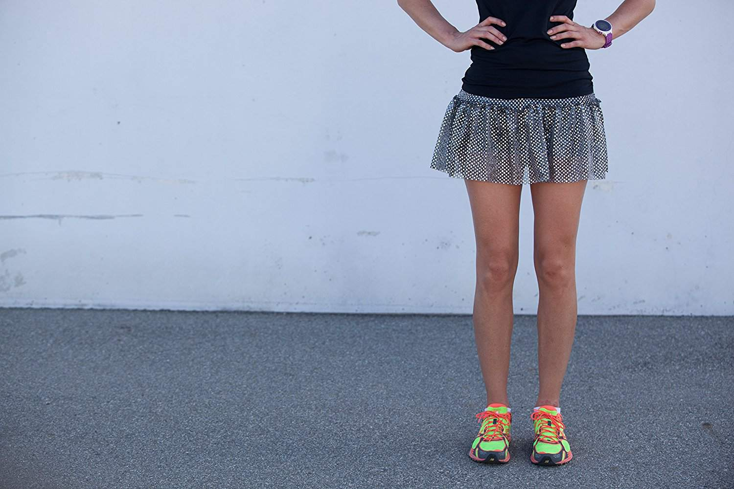 d9ab8316 Sparkly Race Gear to Stick Out and Run Comfortably