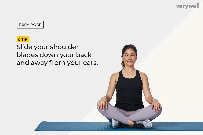Easy Pose (Sukhasana)