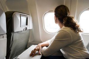 Woman Airplane Passenger