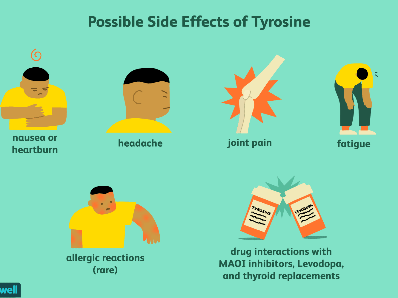 Tyrosine Benefits Side Effects Dosage And Interactions