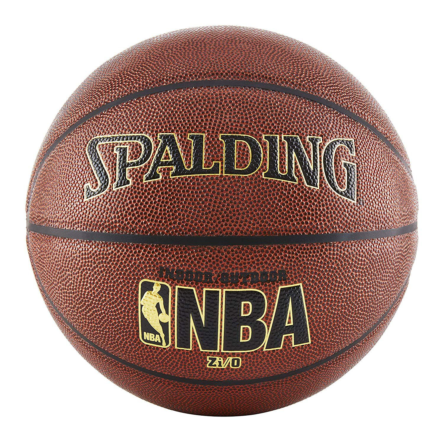 Spalding NBA Zi O Indoor Outdoor Basketball - Official Size 7 (29.5 9afbd4a156