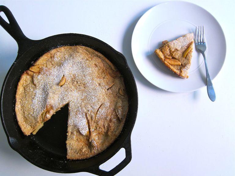 Baked Apple & Spelt Pancake