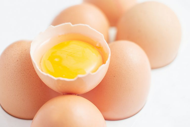 Handle raw eggs properly to avoid salmonella.