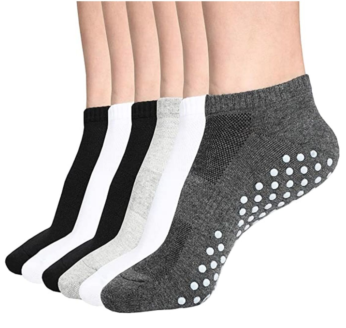 DIBAOLONG Ankle No Show Athletic Short Cotton Socks