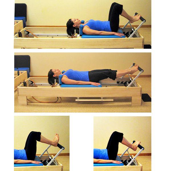 Beginner Pilates Reformer Exercises