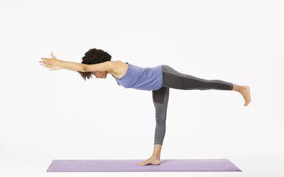 How To Do King Dancer Pose Natarajasana