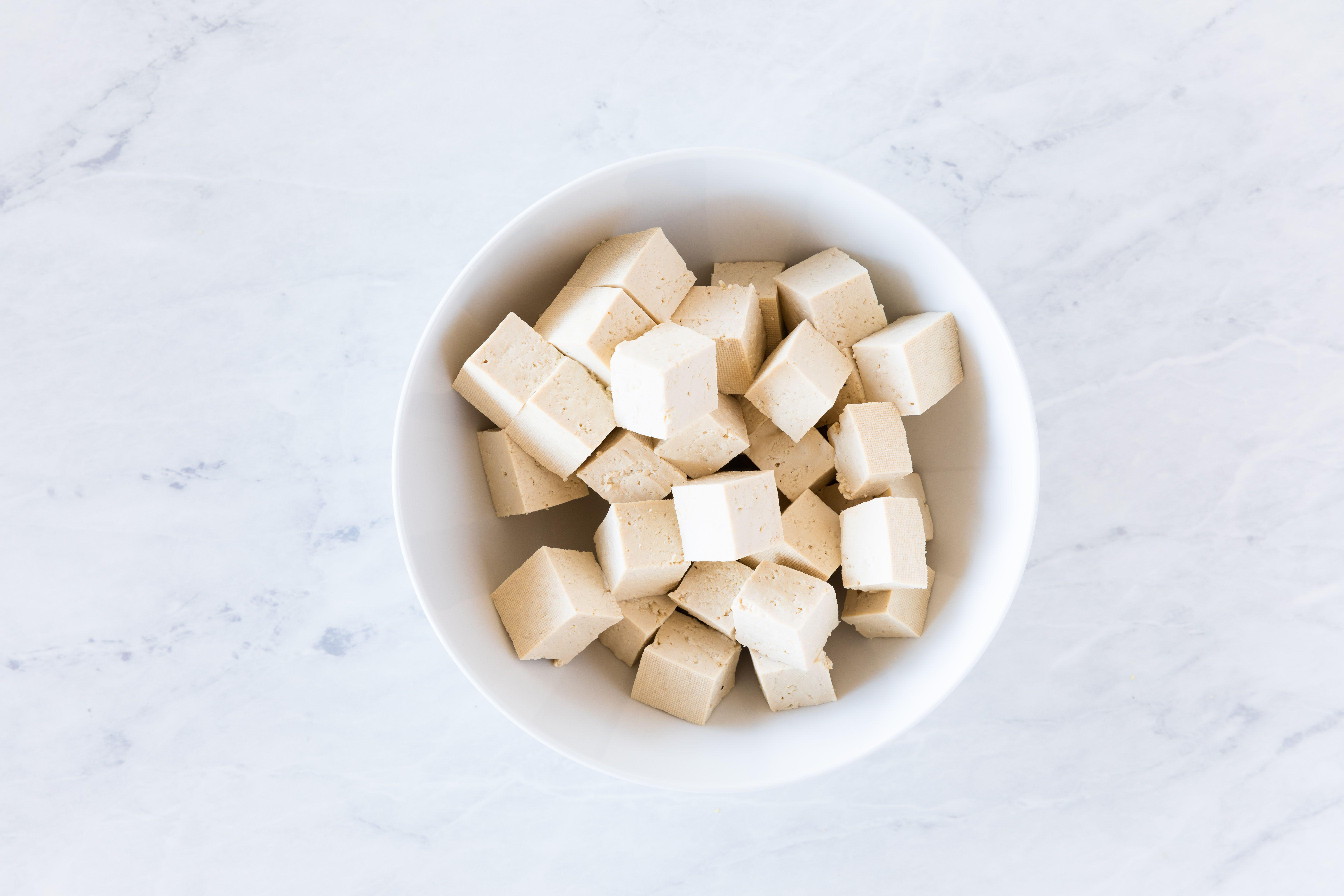Prepare the tofu