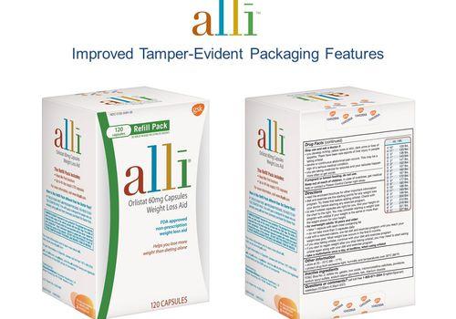 alli TE Pack Image Carton
