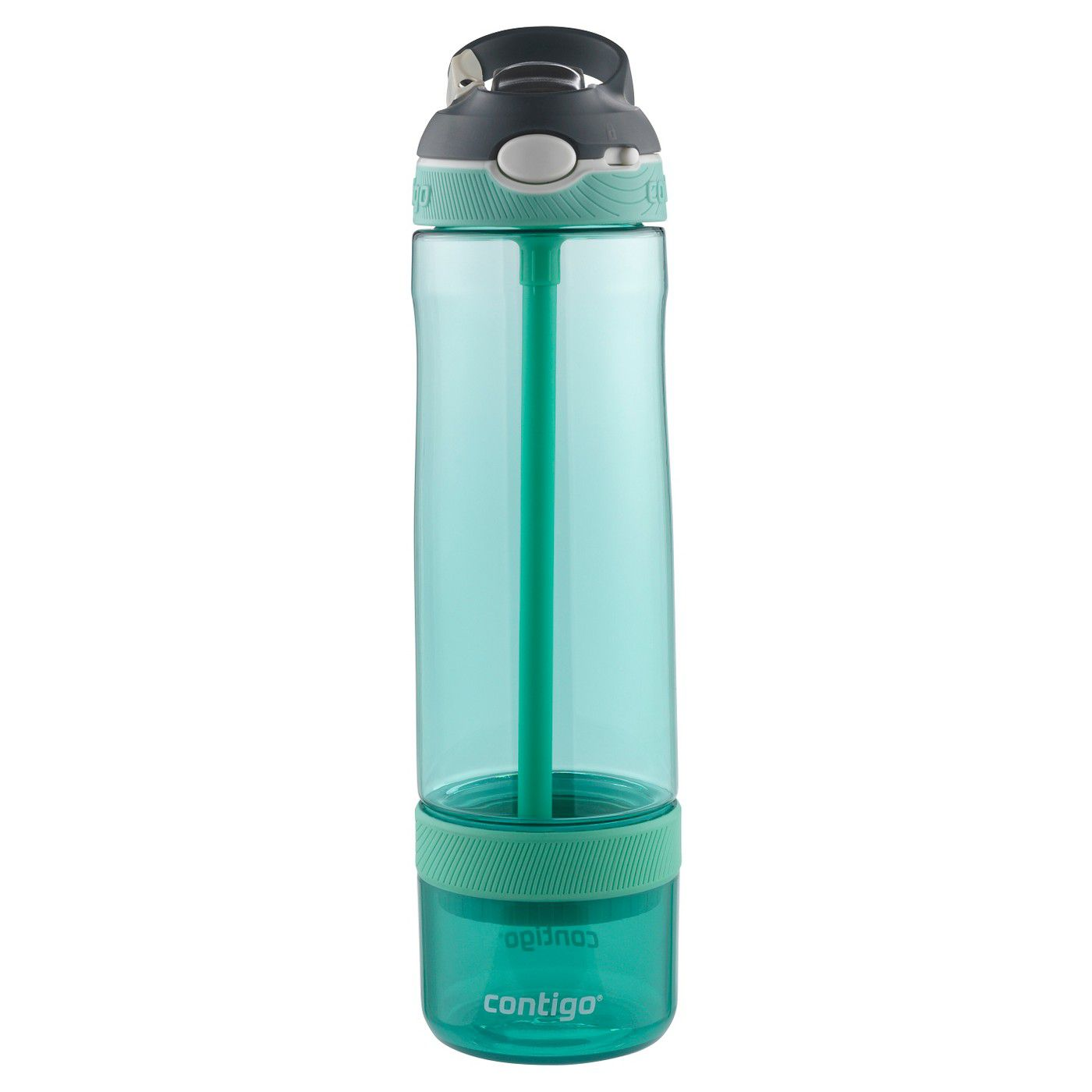 Botella infusor de plástico Contigo Autospout Straw Ashland