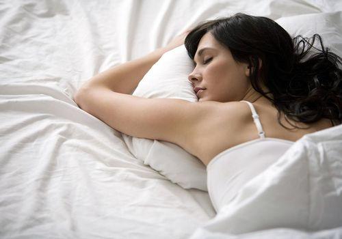 Una buena noche de sueño es importante.