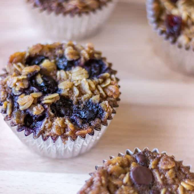To-Go Baked Oatmeal