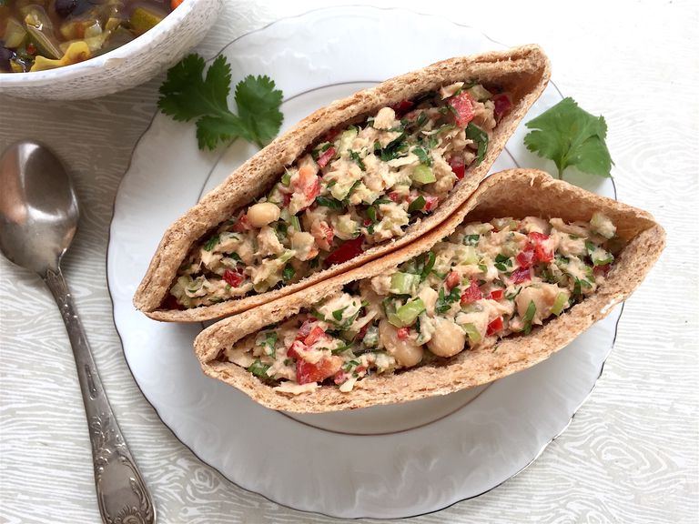 Veggie Tuna Pockets