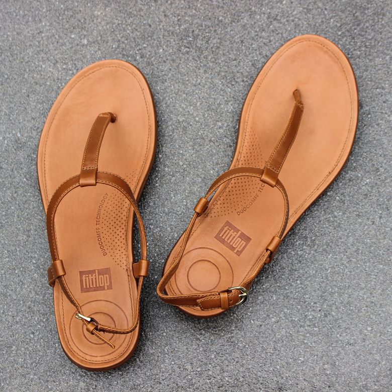 FitFlop Tia Leather Sandals