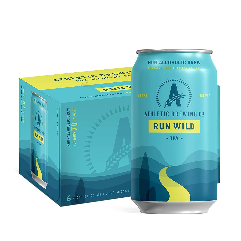 Athletic Brewing Company Run Wild Non-Alcoholic IPA
