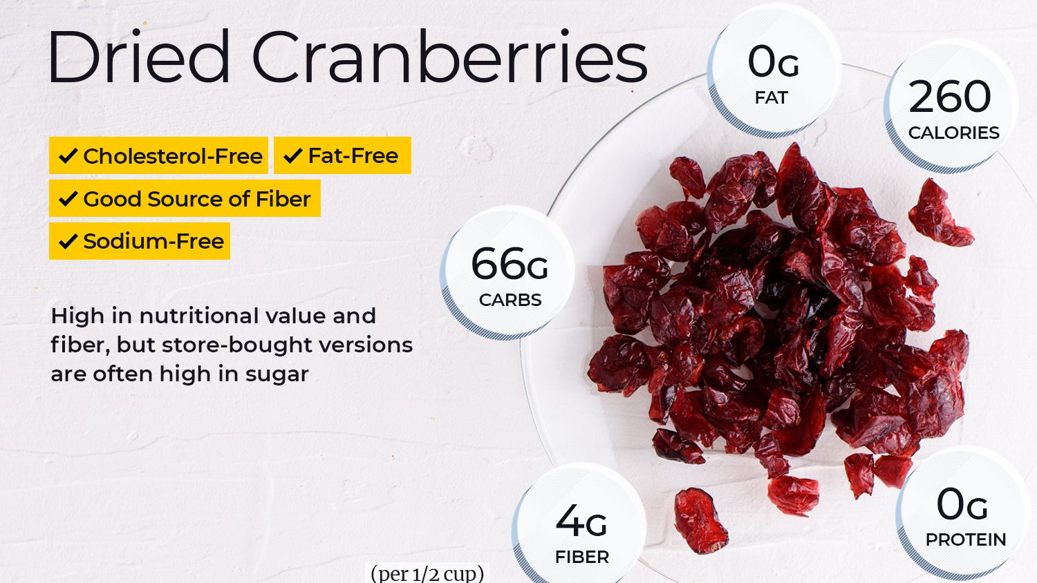 Dried Cranberries Nutrition Facts And Health Benefits