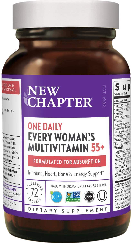 New Chapter Multivitamin for Women 50 plus