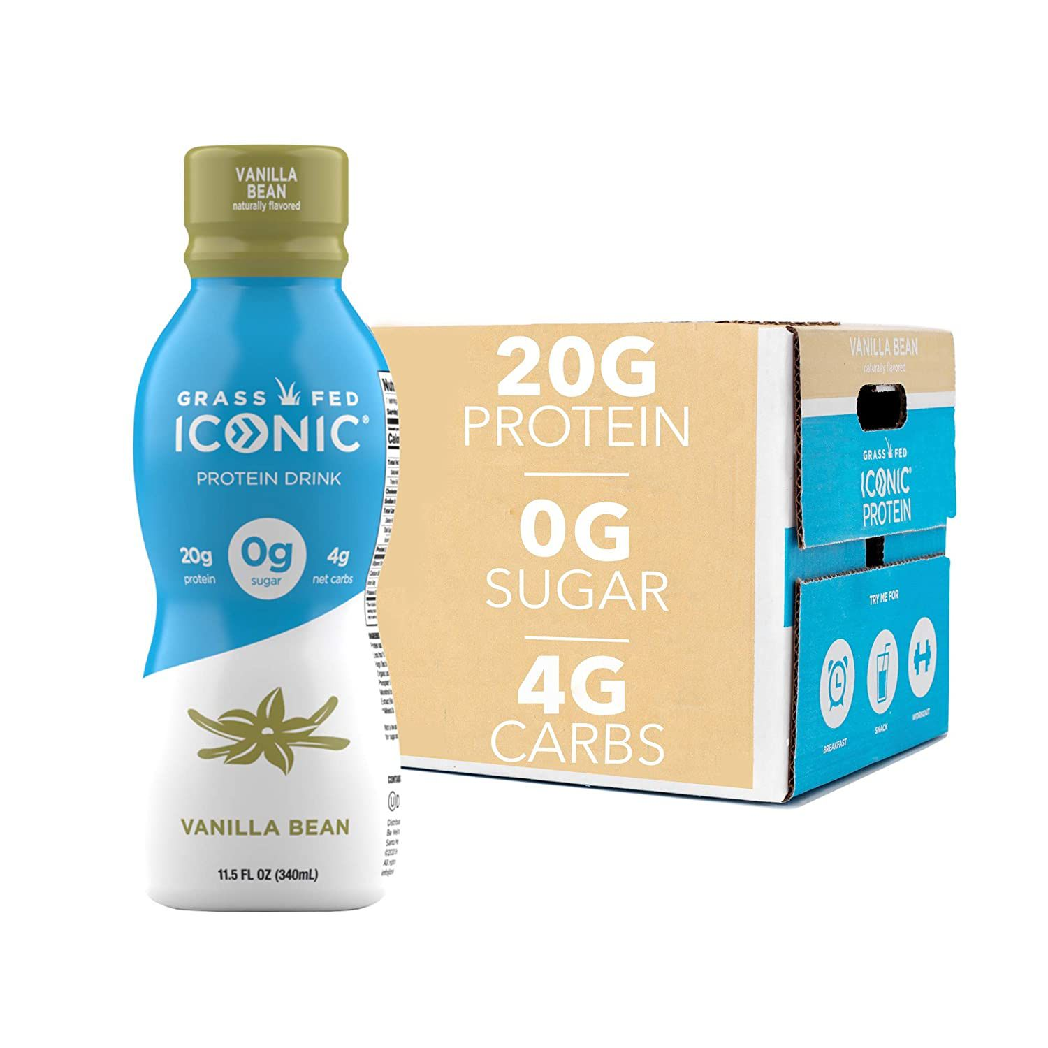 ICONIC Low Carb High Protein Drinks