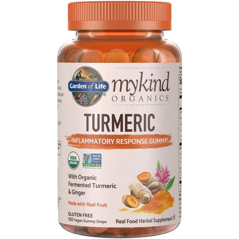 Garden of Life MyKind Organics Turmeric Inflammatory Response Gummy