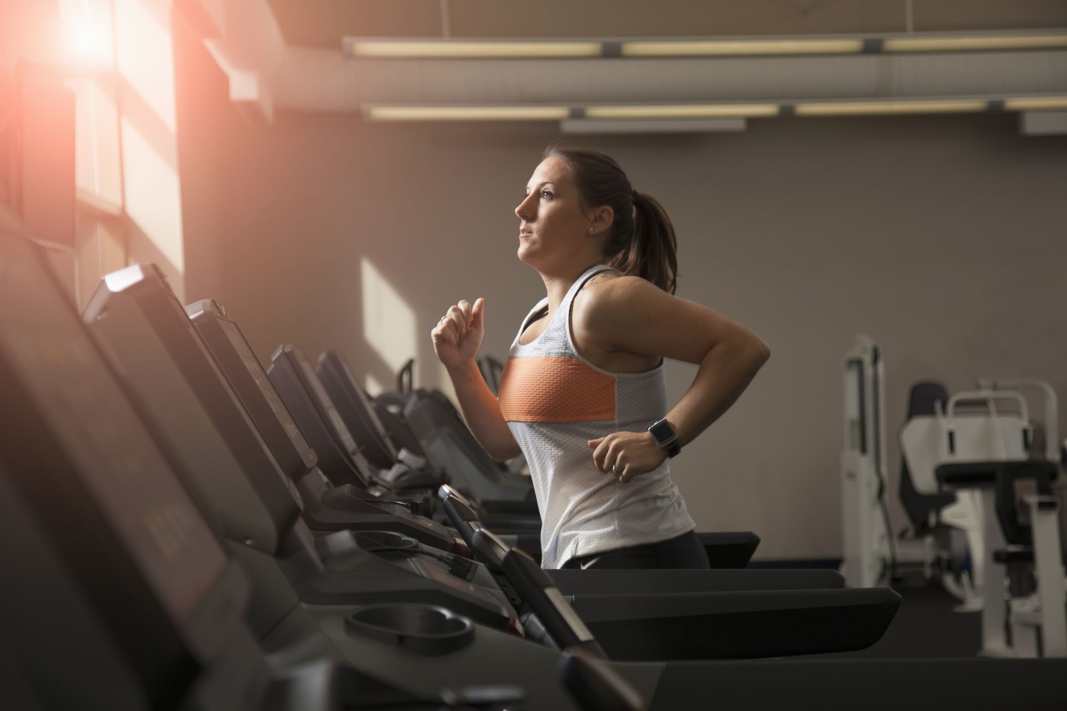 power walking on treadmill to lose weight