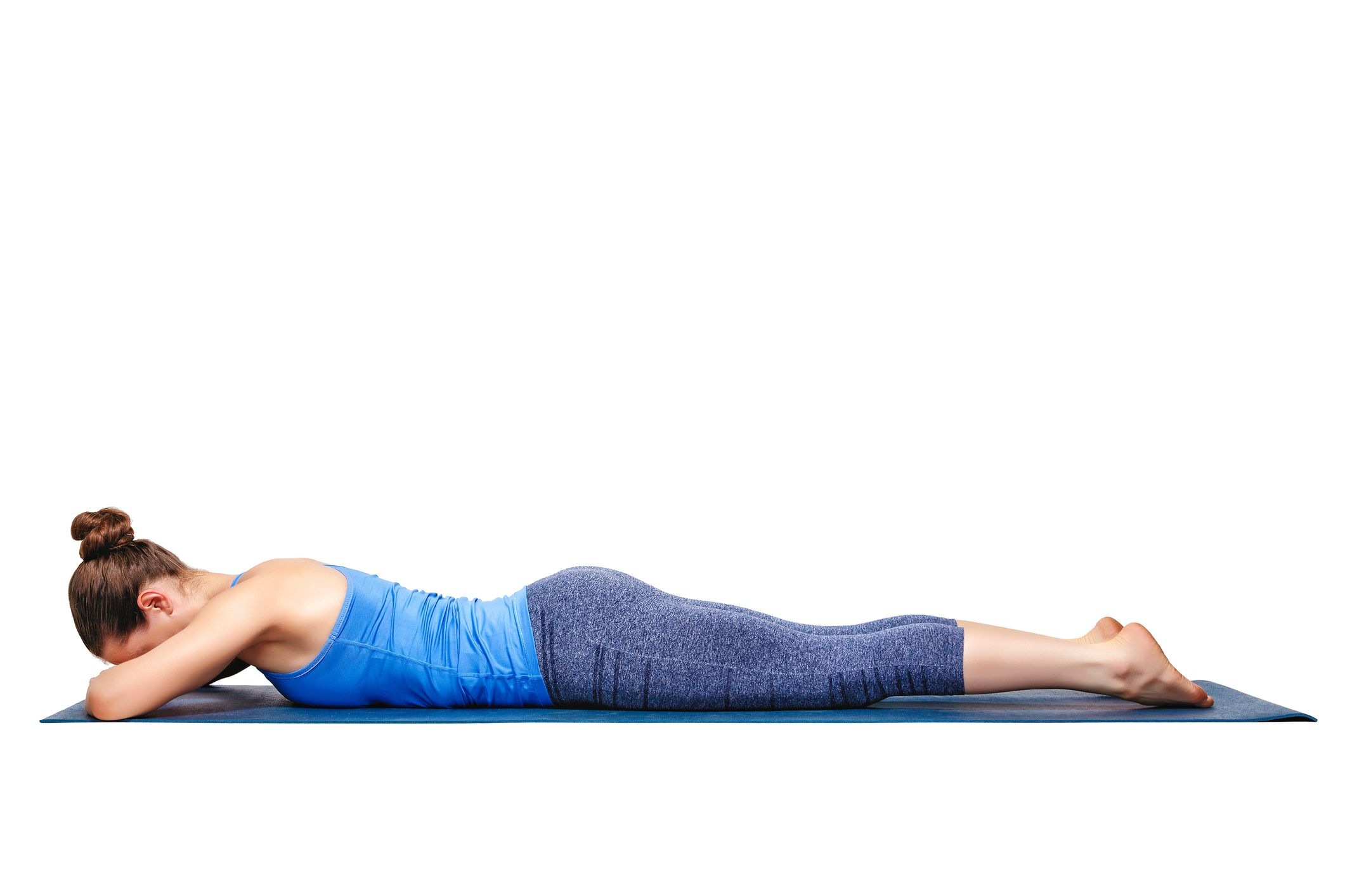 Yin Yoga Crocodile Pose
