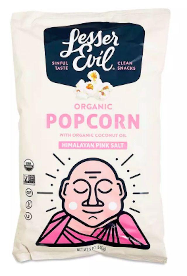 Lesser Evil Organic Popcorn