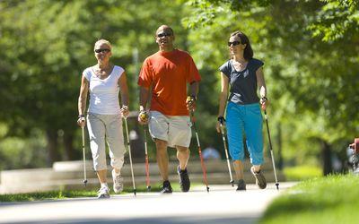Nordic Walking Trio