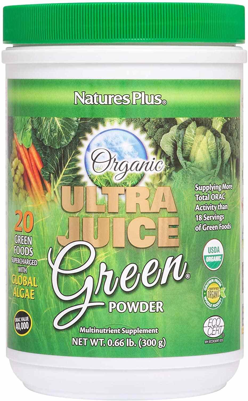 Nature's Plus Ultra Juice Green Powder