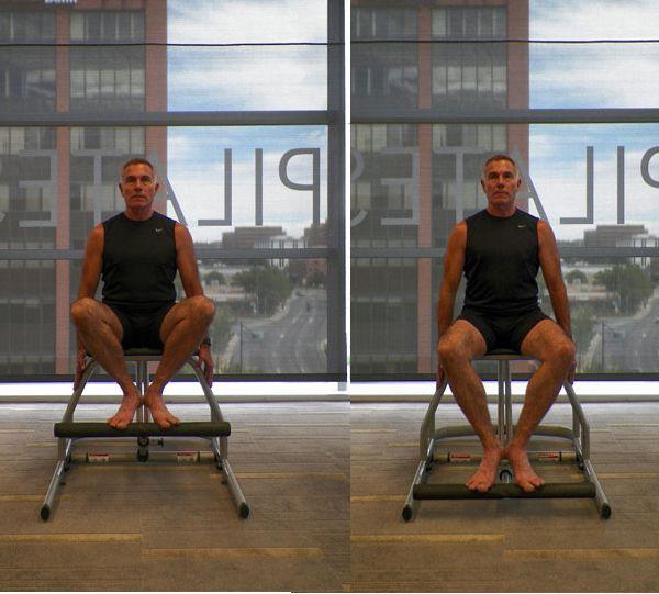 entrenamiento en silla para la parte inferior del cuerpo