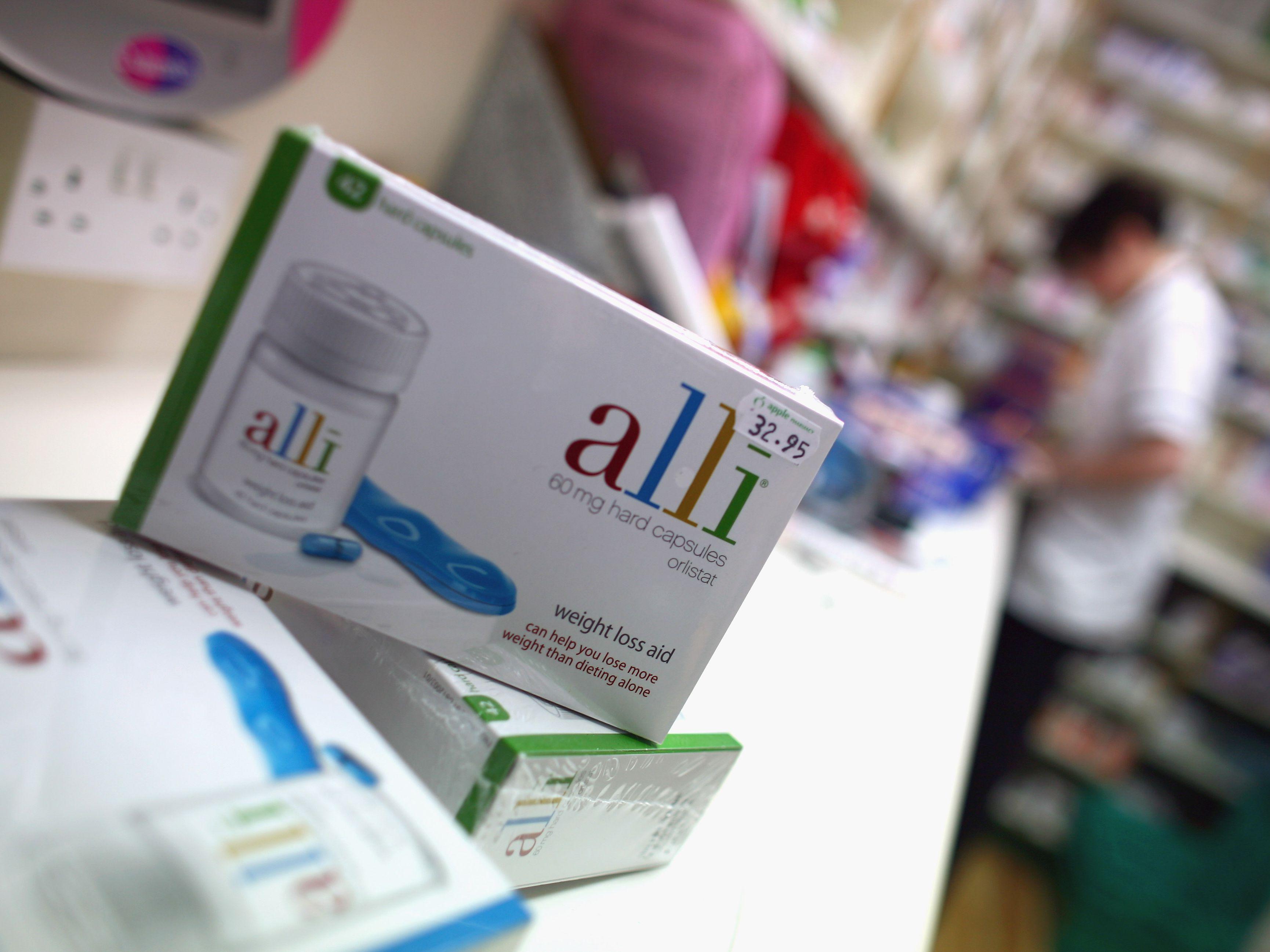 are alli diet pills prescribed?