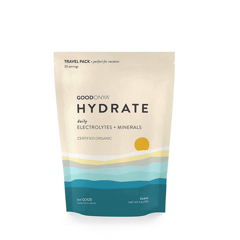 GOODONYA Hydrate Organic Electrolyte + Mineral Powder Lemon