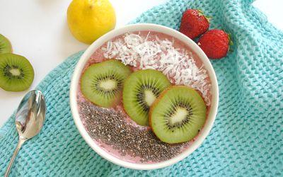 Cherry Berry Anti-Inflammatory Smoothie Bowl