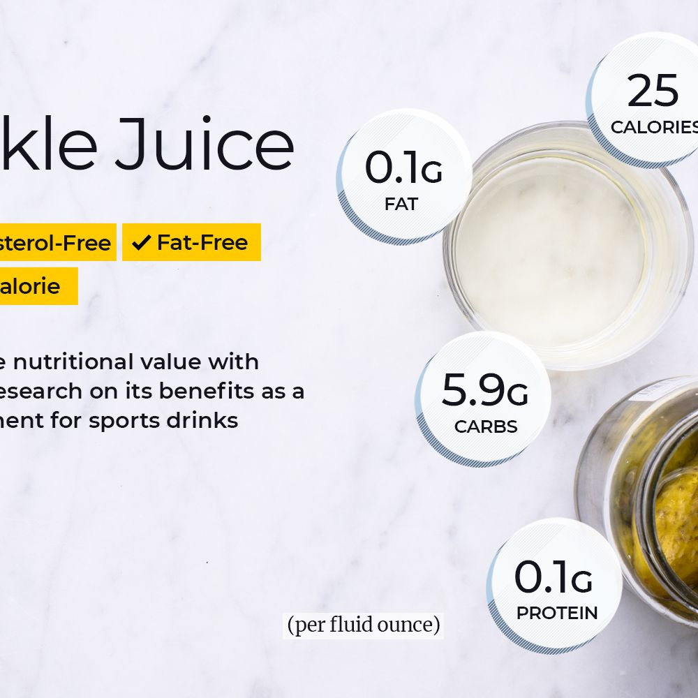 Pickle Juice Nutrition Facts and Health Benefits