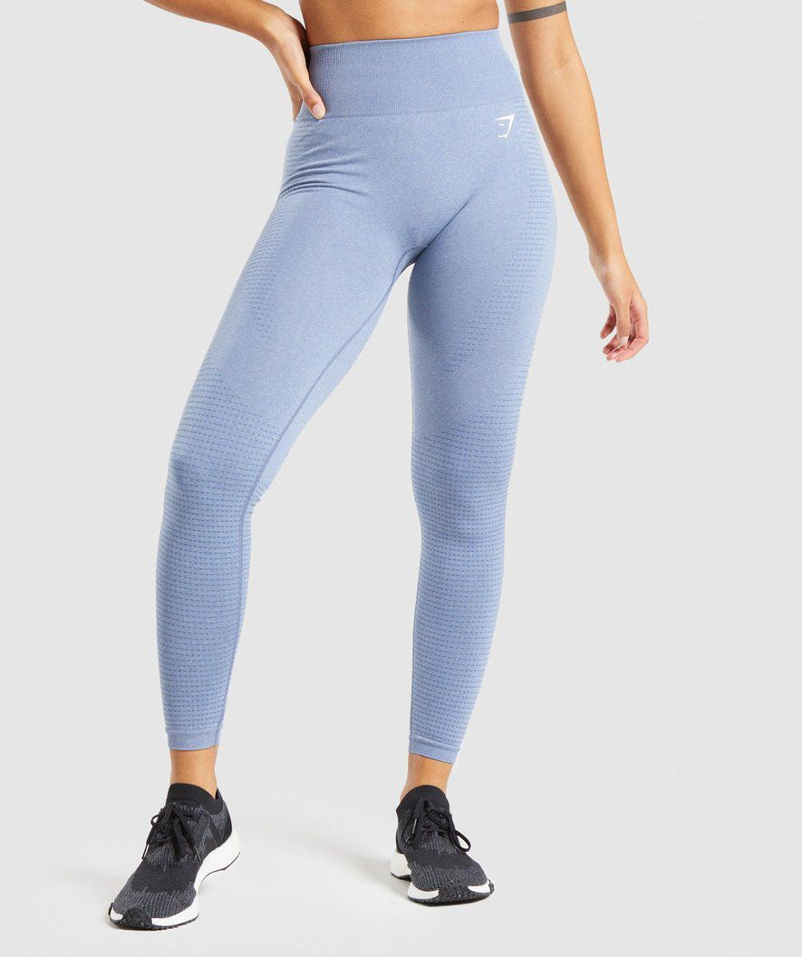 TL All-Over Blue Water Colour Yoga Leggings