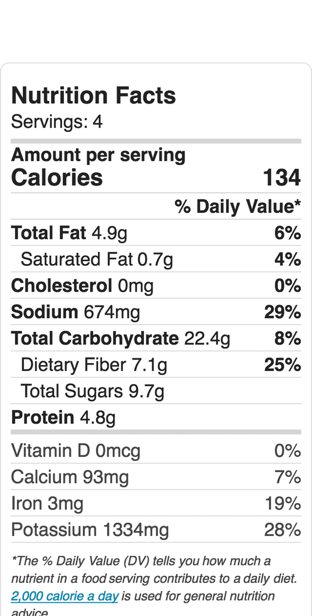 Nutrition Label Embed 142196880 5B9332A8C9E77C0050C16518