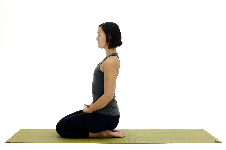 Yoga Poses On Knees