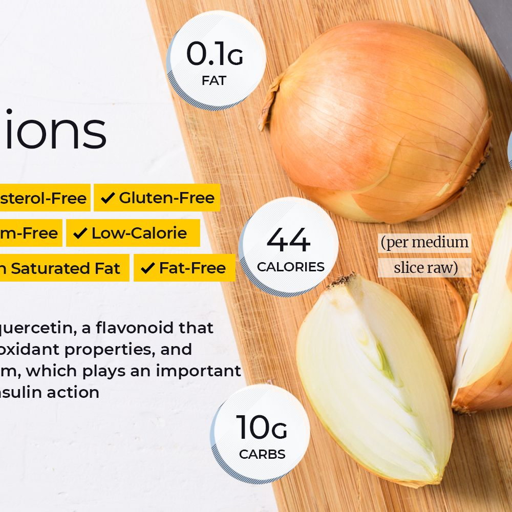 Onion Nutrition Facts And Health Benefits