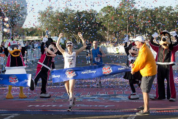 Walt Disney World Marathon Finish