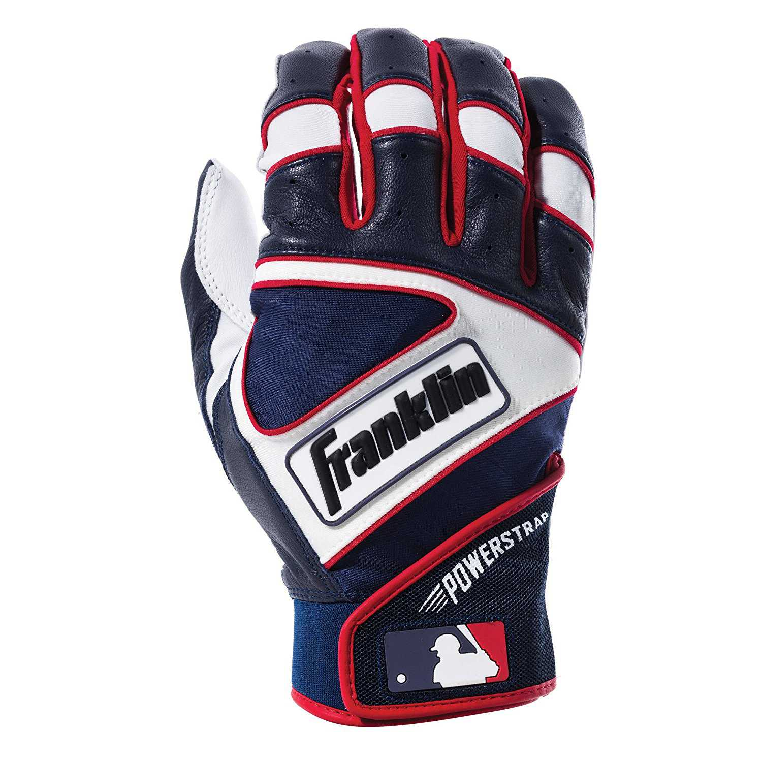 57b067f6741 Best for a Comfortable Fit  Franklin Sports MLB Powerstrap Batting Gloves