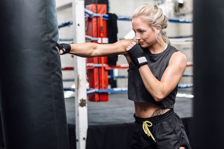 3069cbecc4 A 20-Minute Punching Bag Workout