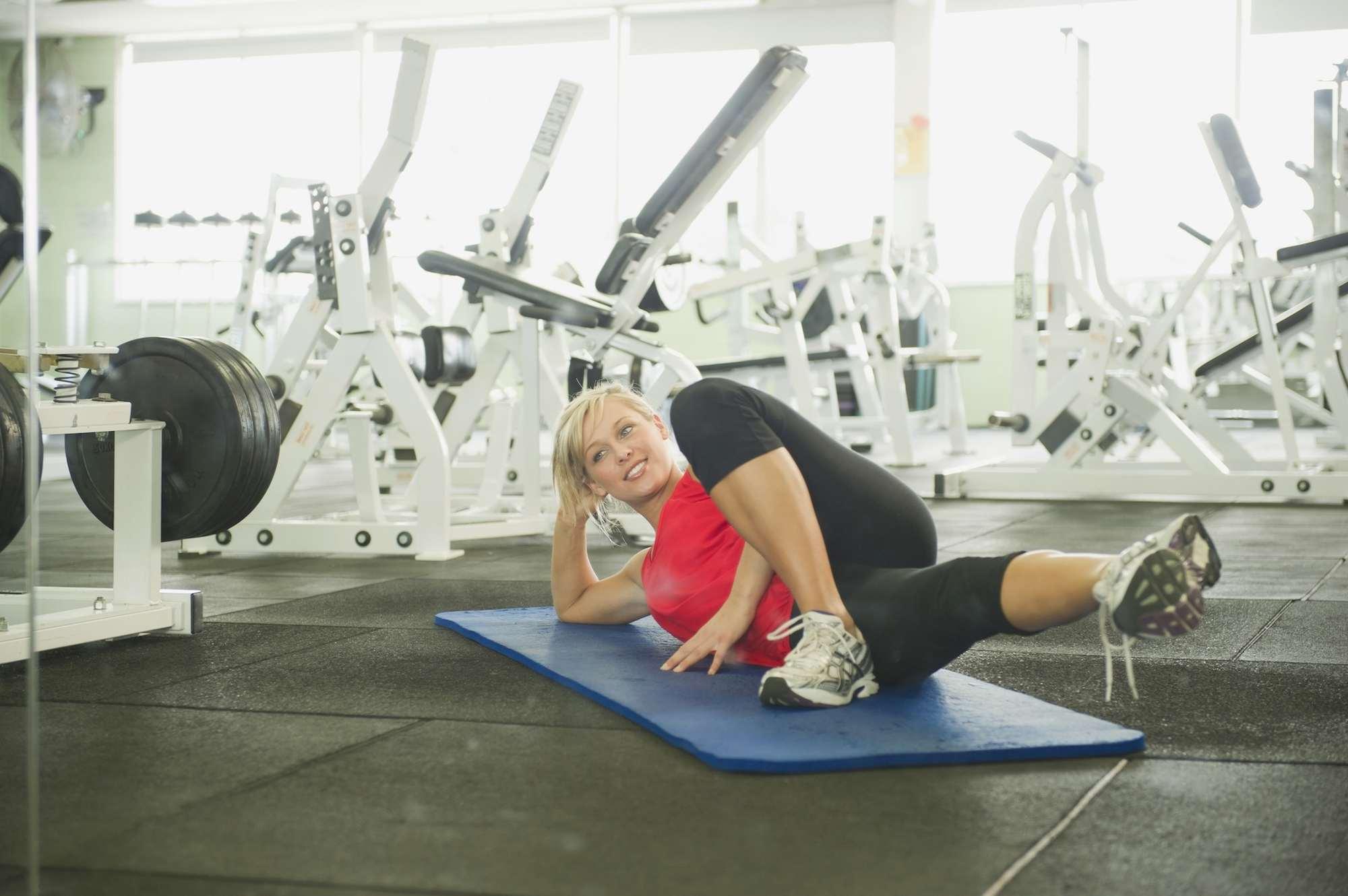 Pilates inner thigh lift