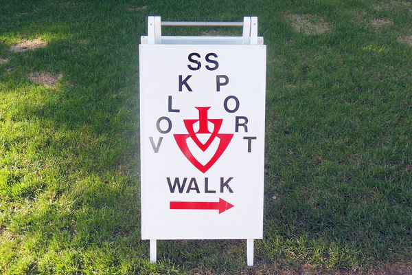 Volkssport Walk Sign
