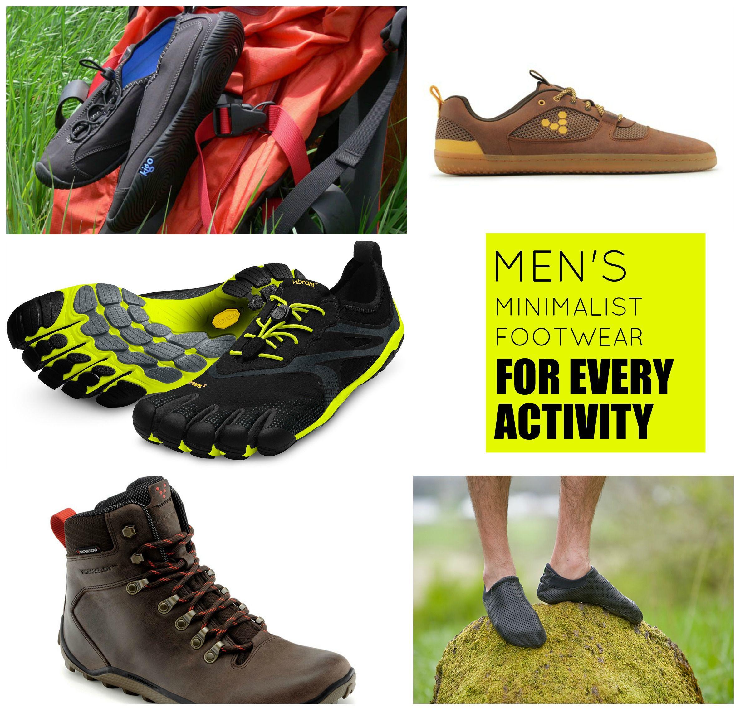 Calzado minimalista de hombre
