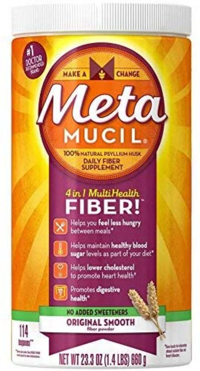 Metamucil Smooth Texture Sugar-Free Unflavored