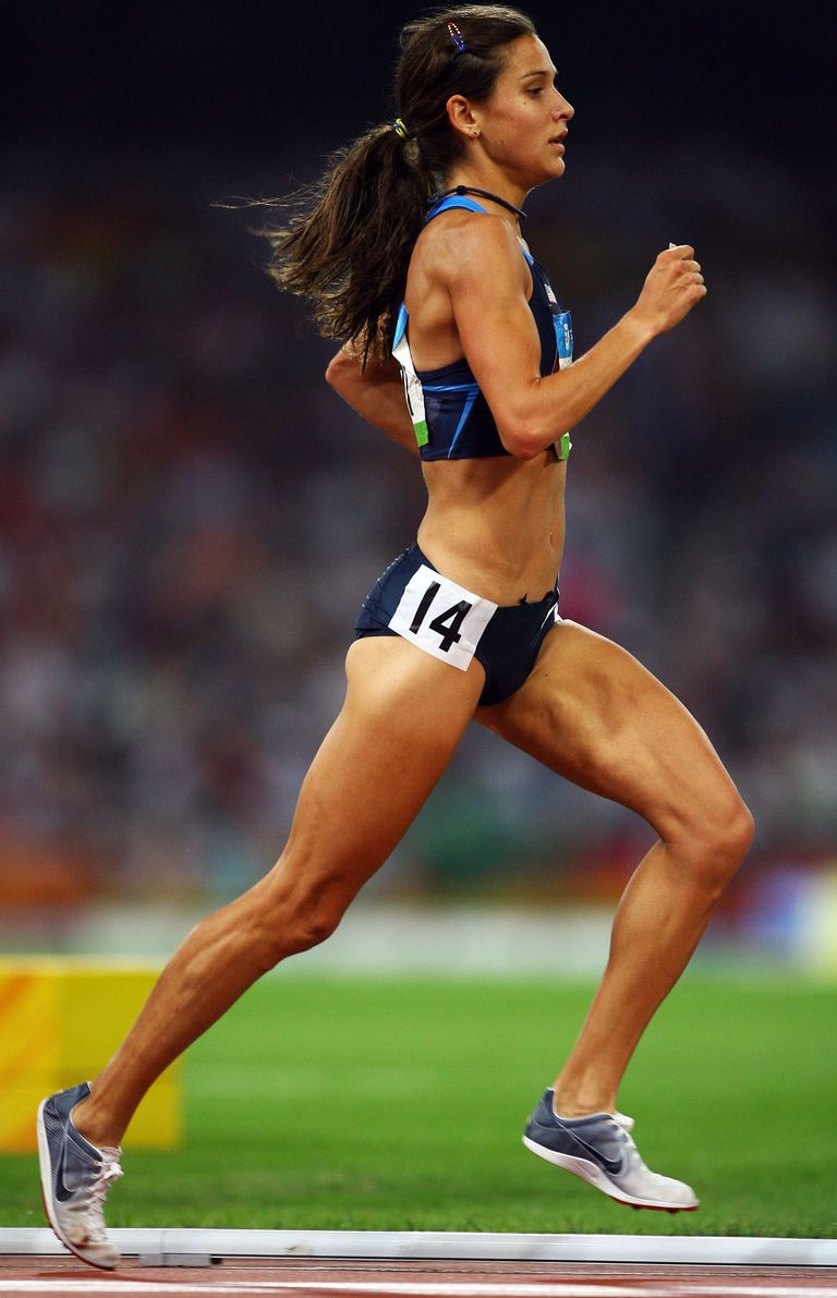 Kara Goucher at 2008 Olympics