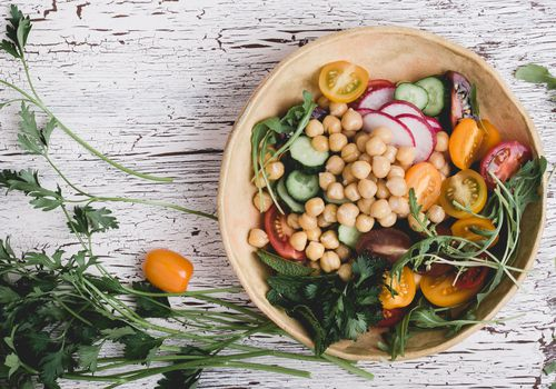 vegan bowl. plant based meal